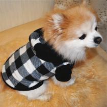 Chihuahua hoodie Checkers maat S