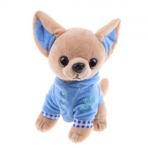 Chihuahua Knuffel met Blauwe Trui