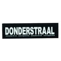 Julius K9 Labels Voor Power-Harnas/Tuig Donderstraal Small