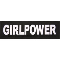 Julius K9 Labels Voor Power-Harnas/Tuig Girl Power Small