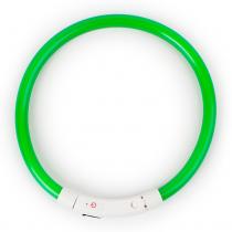 LED Halsband Flash Groen 35 cm