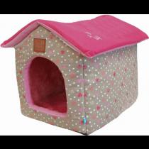 Lief! Hondenmand Huis Girls 52x42 cm