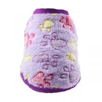 Fleece Trui Purple Paws XXS