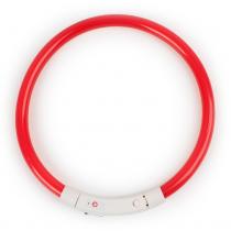 LED Halsband Flash Rood 35 cm