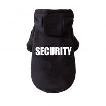 Hoodie Security maat S