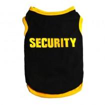Truitje Security Geel/Zwart maat S