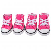 Chihuahua Sneakers Denim Pink