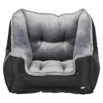 Trixie Autostoel Zwart / Grijs 50 x 50 x 40 cm