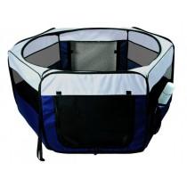 Trixie Puppy Ren Blauw Grijs 130X130X55 CM