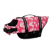Chihuahua Zwemvest Pink Flower XXS