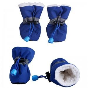 Schoentjes Donker Blauw maat 2