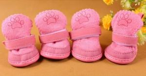 Chihuahua schoentjes Roze