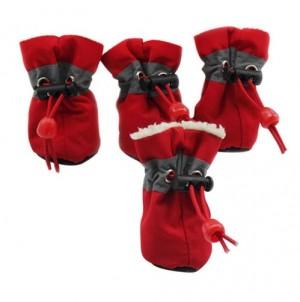 Schoentjes Rood maat 1